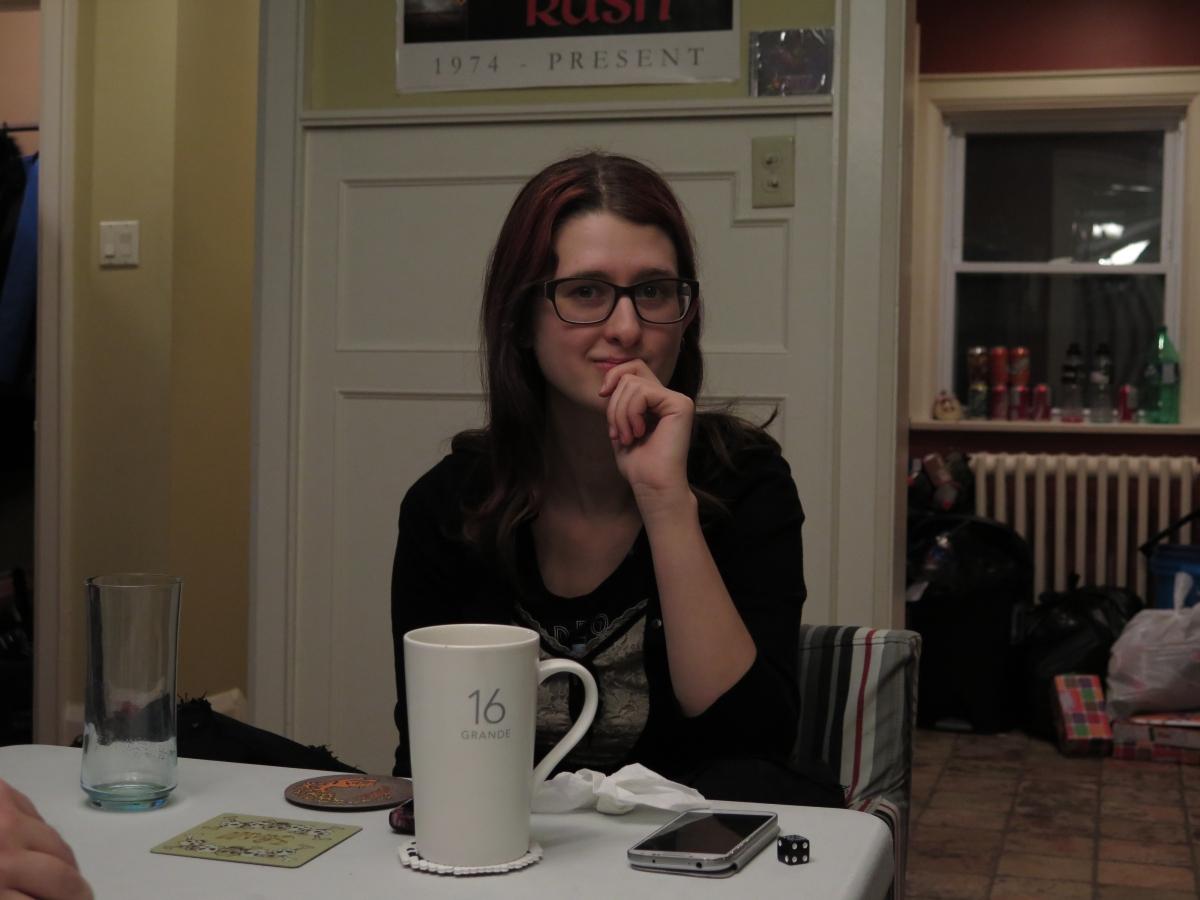 Sarah being Sarah-ish.