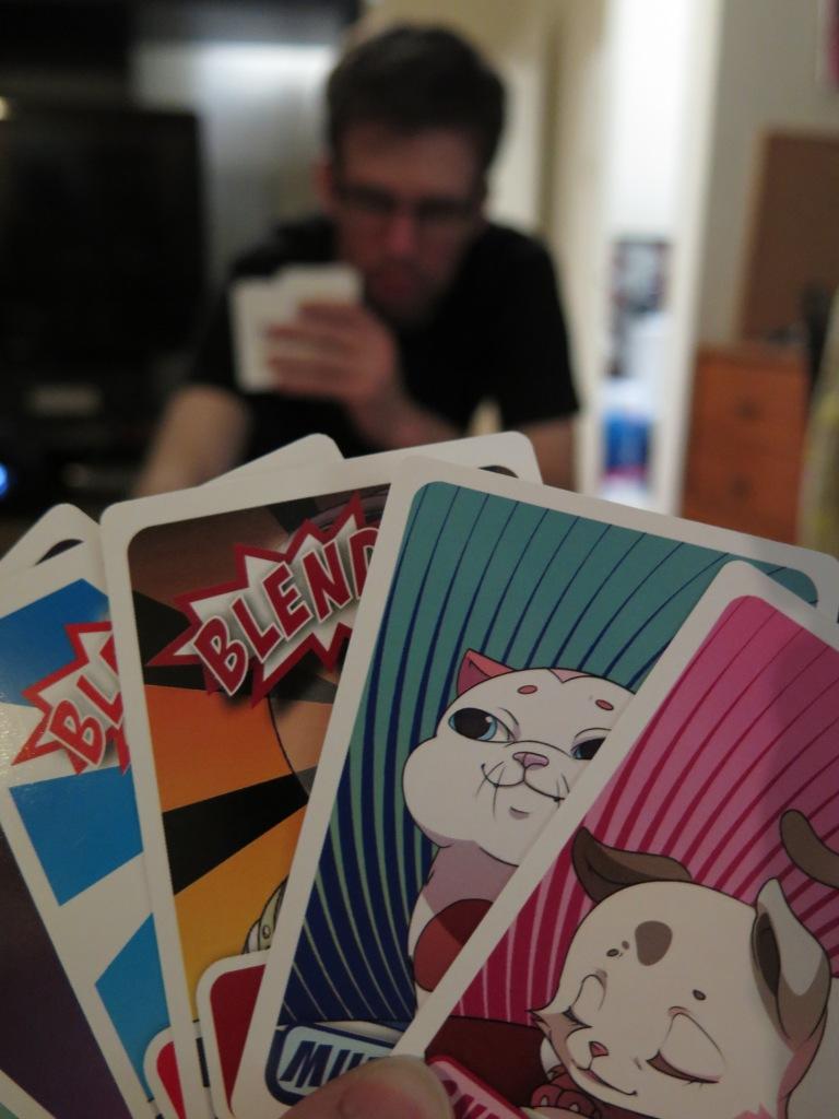 Kittens in a Blender Cards