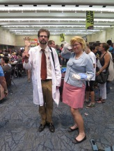 Doctor Krieger and Pam.
