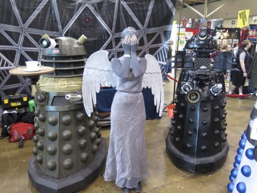 Doctor Who monsters.