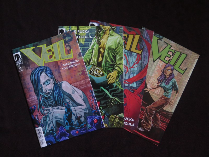 Veil comic, issues 1-4
