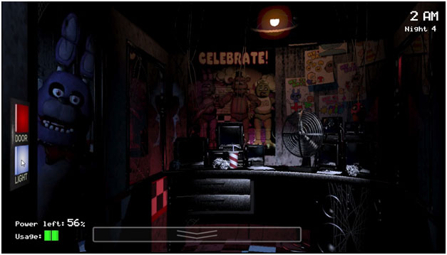 Five nights at Freddys screenshot 1