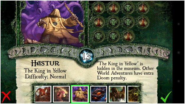Boss choice: Hastur