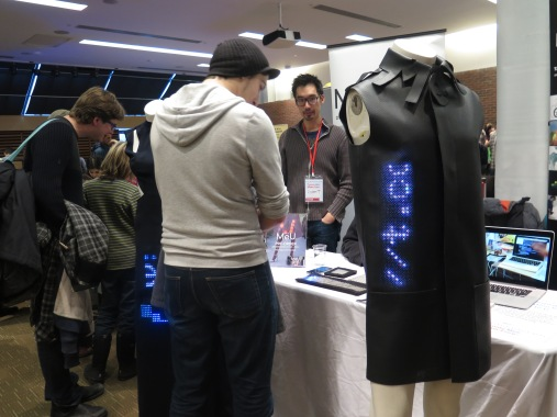 MeU: open-source, wearable LED.