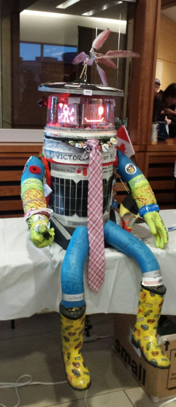 hitchBOT the Hitchhiking robot.