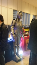 From what I recall, this is the first lifesize model of the crazy android from Metropolis.
