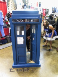 Teeny TARDIS.